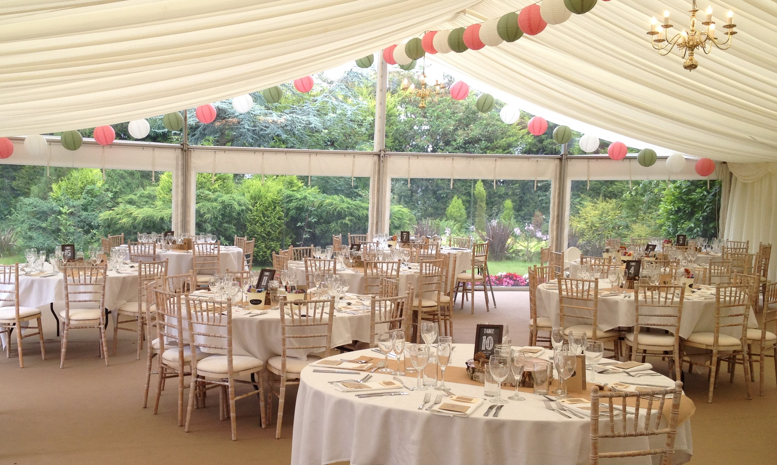 Wedding Gallery Marquee Hire In The North East