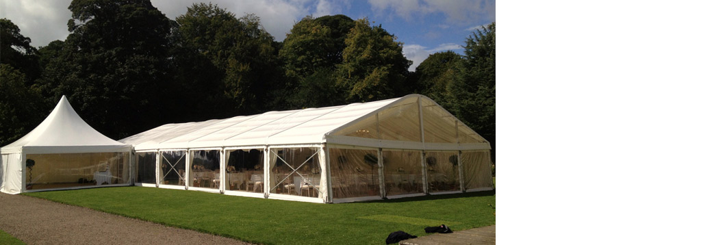 Marquee hire in Newcastle & throughout the North East