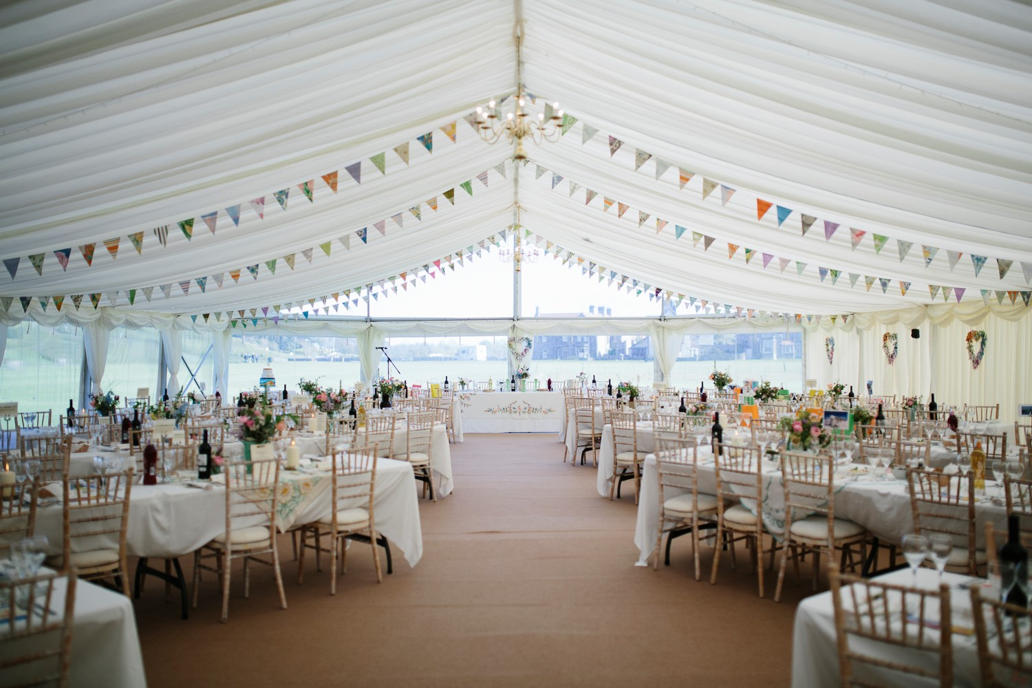 Sophie And Bens Wedding Day Marquee Hire In The North East
